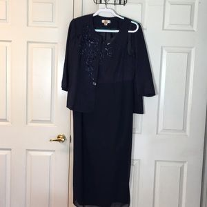 Coldwater Creek mother-of-the-bride dress set